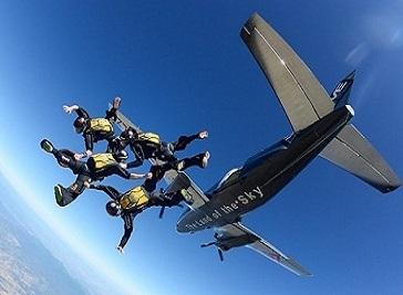Skydive Empuriabrava in Barcelona
